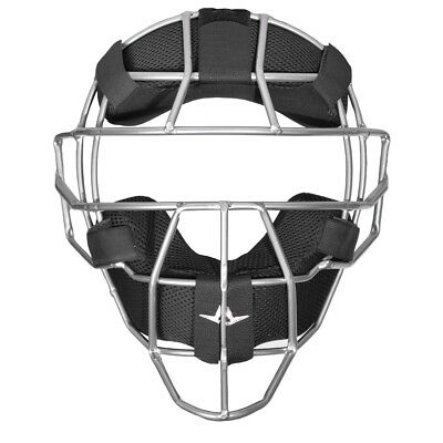 All-Star Traditional System Seven Baseball/Softball Umpire Mask - Black