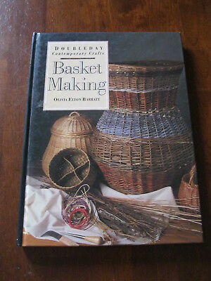 Doubleday Contemporary Crafts:Basket making: 1992:Hard cover Book:  Preloved