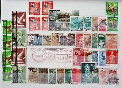 Japan Vintage Used Classic Stamps Collection Lot #4