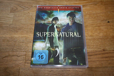 Dvd - Supernatural - Staffel 1 - 6 Disc´s - Neu & Ovp