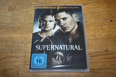 Dvd - Supernatural - Staffel 7 - 6 Disc´s - Neu & Ovp