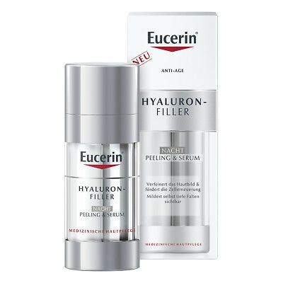 Eucerin Anti-age Hyaluron-filler Nacht Peel.+serum 30ml PZN 14216011