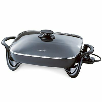 Presto 06852 16Inch Electric Skillet with Glass Cover Free Shipping