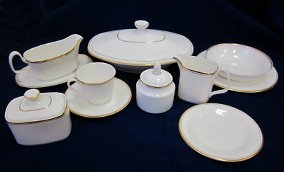 Superb Rare Royal Doulton Gold Concord H5049 China Replacements Tea / Dinner Set
