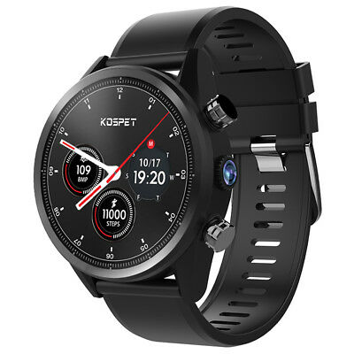 Kospet Hope 4G Smart BT Watch Android 7.1 Quad Core 3GB 32GB Heart Rate Monitor