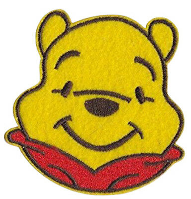 Winnie The Pooh /'Whisper/' Large 9.7cm x 5.6cm Embroidered Sew or Iron on Badge