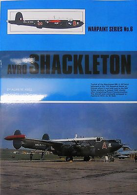 Warpaint Series No.006 - Avro Shackleton  24 Pages              Book