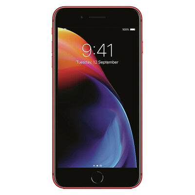 "Apple iPhone 8 Plus 64GB ""Factory Unlocked"" (PRODUCT)RED 4G LTE iOS Smartphone"