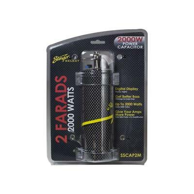 Stinger SSCAP2M Car Audio 2 Farad Digital Capacitor