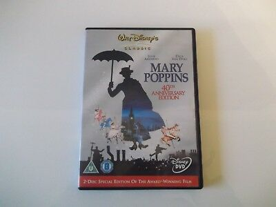 Walt Disney Mary Poppins Dvd (Disc One The Film Only)