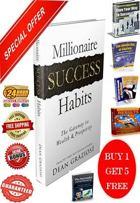 Millionaire Success Habits Ebook PDF+​5 Bonus Success Ebooks Master Resell Right