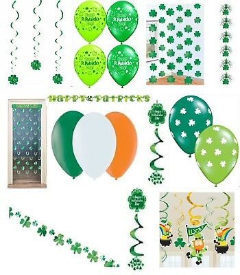 Irish Party Decorations St Patricks Day Football Rugby Ireland 6 Nations Eire