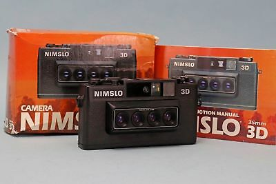NIMSLO 3D 35mm Camera w Original Box and Manual
