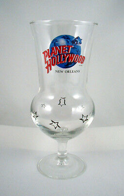 """Planet Hollywood """"NEW ORLEANS""""- Hurricane Glass- 8 1/4 INCH"""