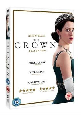 The Crown Season 2 Complete DVD New & Sealed Region 2 UK Fast Shipping