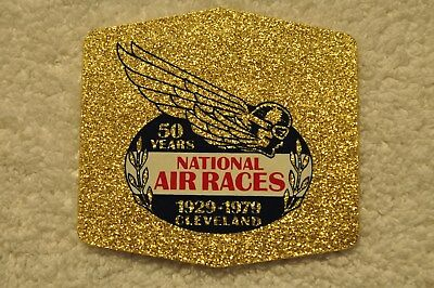 Vintage 1979 National Air Races 50 Year Anniversary Decal (1929 to 1979) WOW!!!!