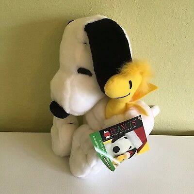 Applause Large Snoopy & Woodstock Plush Stuffed Animal Set