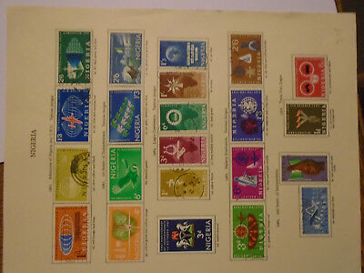 Nigeria 1960's sets collection