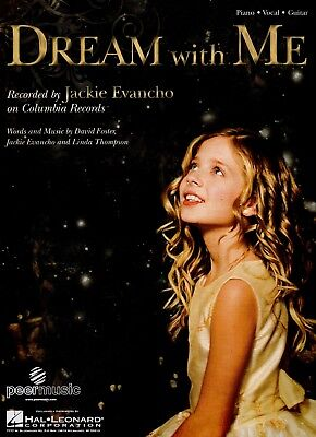 JACKIE EVANCHO sheet music DREAM WITH ME (2011)