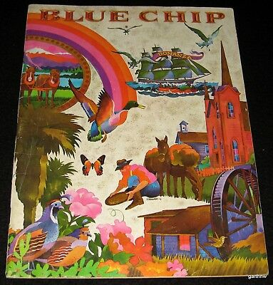 BLUE CHIP STAMPS 1970 ORIGINAL PICTORIAL CATALOG for SAVINGS BOOKS * TRADING