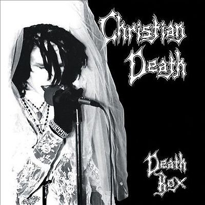 CHRISTIAN DEATH - DEATH BOX 5 CD + 1 DVD Rare Out of Print Rozz Williams Gothic