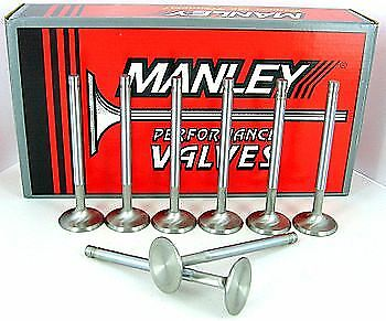 11877-8 Manley Race Master Exhaust Valves 1.600 +.100 Long SB Chevy