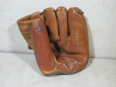 f8dfc429228 VINTAGE JC HIGGINS Sears Jerry Coleman Baseball Glove 28 1615 ...
