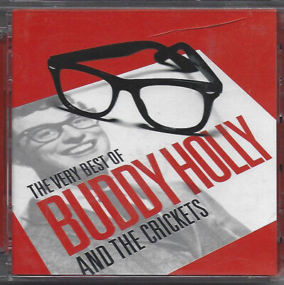 BUDDY HOLLY & THE CRICKETS: VERY BEST OF..2009 Anniversary 2CD set 50 tracks