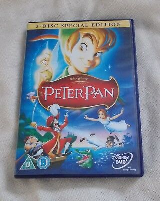 DVD - Disney Peter Pan - R2  PAL - 2 Disc Special Edition
