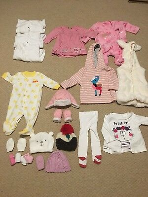 Baby Girls Clothes Bundle 0-3 Month | Great Conditon | Disney | 20 Items