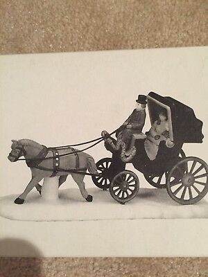 Central Park Carriage Dept 56 Heritage Village 59790 Christmas Accessory Horse