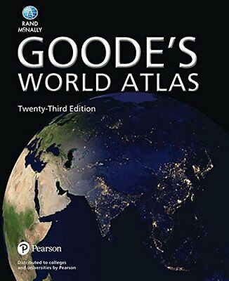 Goode's World Atlas (23rd Edition) by Rand McNally