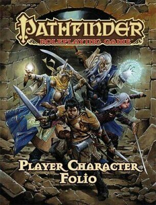 Pathfinder Roleplaying Game Player Character Folio by Bulmahn, Jason