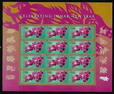 #5340 Lunar (Chinese) New Year of the Boar- Forever 2019 Sheet of 12 MNH