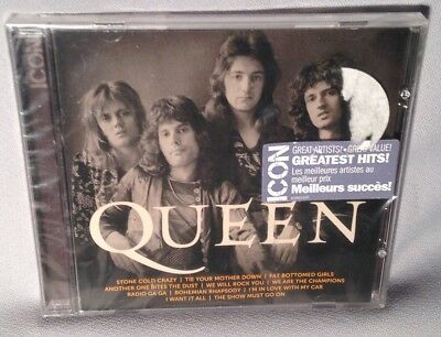 CD QUEEN Icon Greatest Hits NEW MINT SEALED