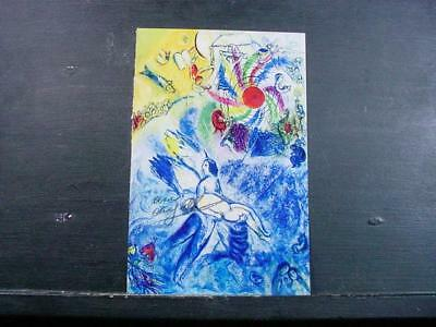 """NobleSpirit NO RESERVE {3970}Print """"Creation of Man"""" Signed by Marc Chagall"""