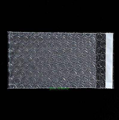 """15 Small Bubble Cushioning Packing Pouches Bag 2.5"""" x 3""""_65 x 80+20mm_Self Seal"""