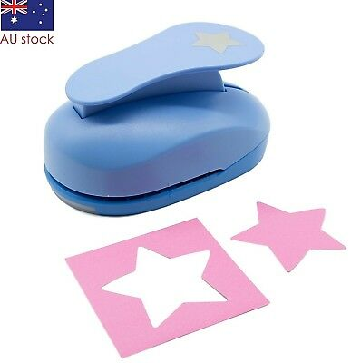 """Star paper punch 3"""" 7.5cm XXL craft punches"""