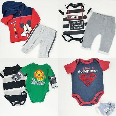 0d277340131f LOT OF 2 Baby Clothing One Pc Body Suit Superman   Batman Unisex in ...