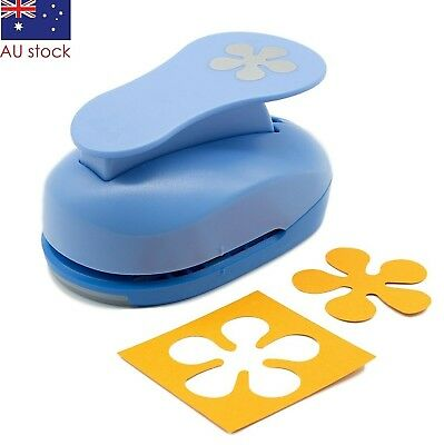 "Flower paper punch 2"" (5cm) XL craft punches scrapbooking card making wedding"