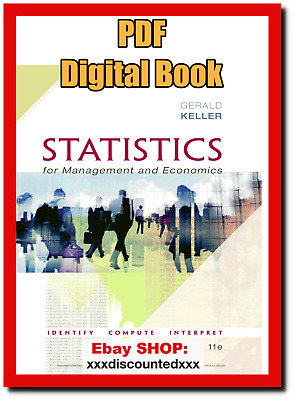 [EB00K] Statistics for Management and Economics by Gerald Keller.11th Edition