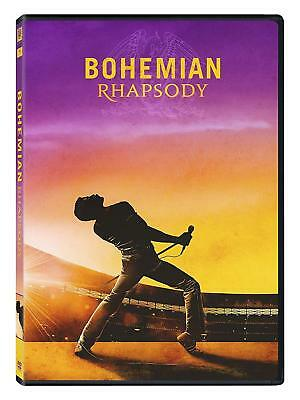 BOHEMIAN RHAPSODY (2018): Rami Malek as Freddie Mercury in Queen - NEW Rg1 DVD
