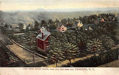 C13-7725, View From Water Tower, Lake Ave. And Park Ave., Yonkers, Ny