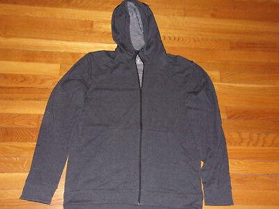 Nike Dri-Fit Full Zip Hooded Athletic Jacket Mens Large Excellent Condition