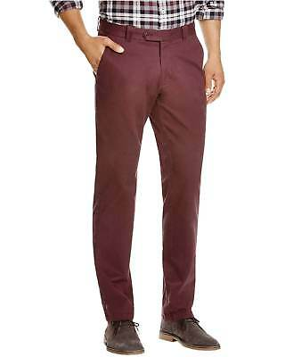 e7e2703c BLOOMINGDALES MENS CHINOS NWT Cotton Pants Cadet Blue Khakis Slim ...