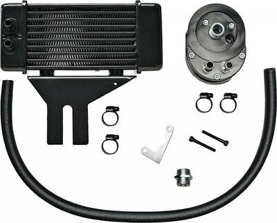 Jagg Lowmount 10-Row Oil Cooler System (Black) (750-2500)