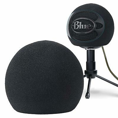 YOUSHARES Blue Snowball Pop Filter Customizing Microphone Windscreen Foam Cover