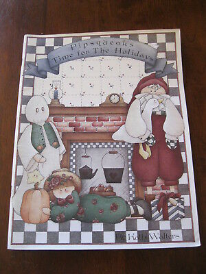 Pipsqueaks Time for the Holidays: By Kathi Walters: 1995   Preloved