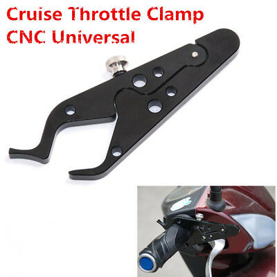 Quality CNC Motorcycle Cruise Control Throttle Clamp Lock Assist Retainer Grip