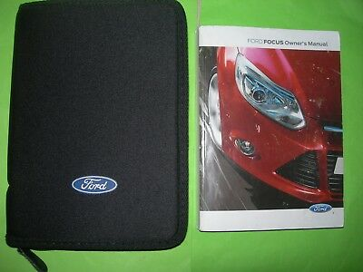 Ford Focus Owners Manual / Handbook, &  Ford Wallet, 2011 - 2014